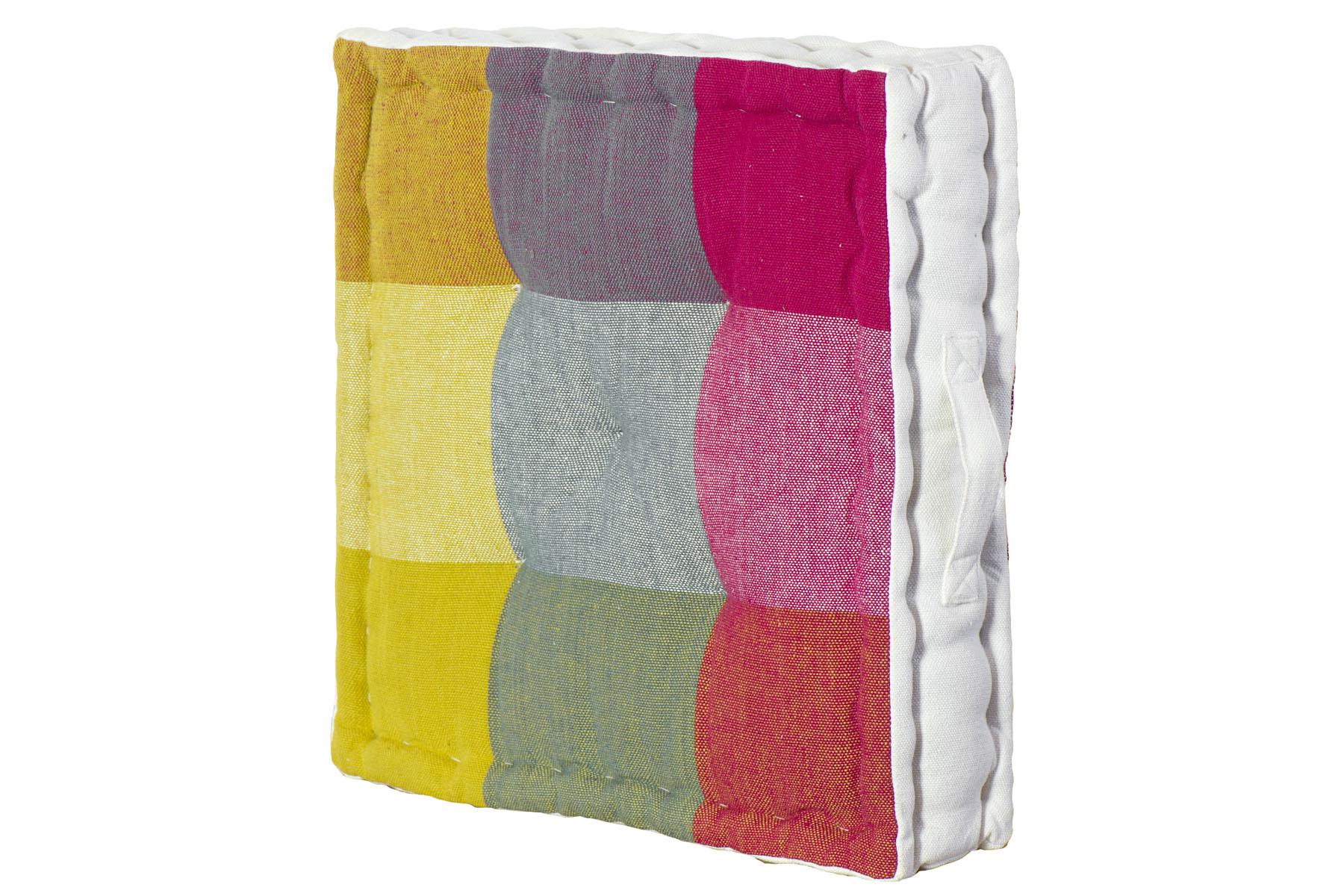 Cuscini Tipo Materasso.Cuscino Tipo Materasso In Cotone Mod Lipari Multicolor Mis